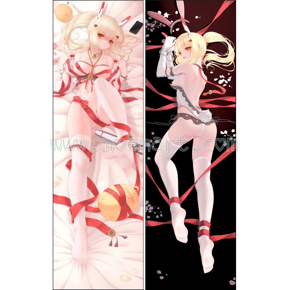 Azur Lane Dakimakura Ayanami Body Pillow Case 23