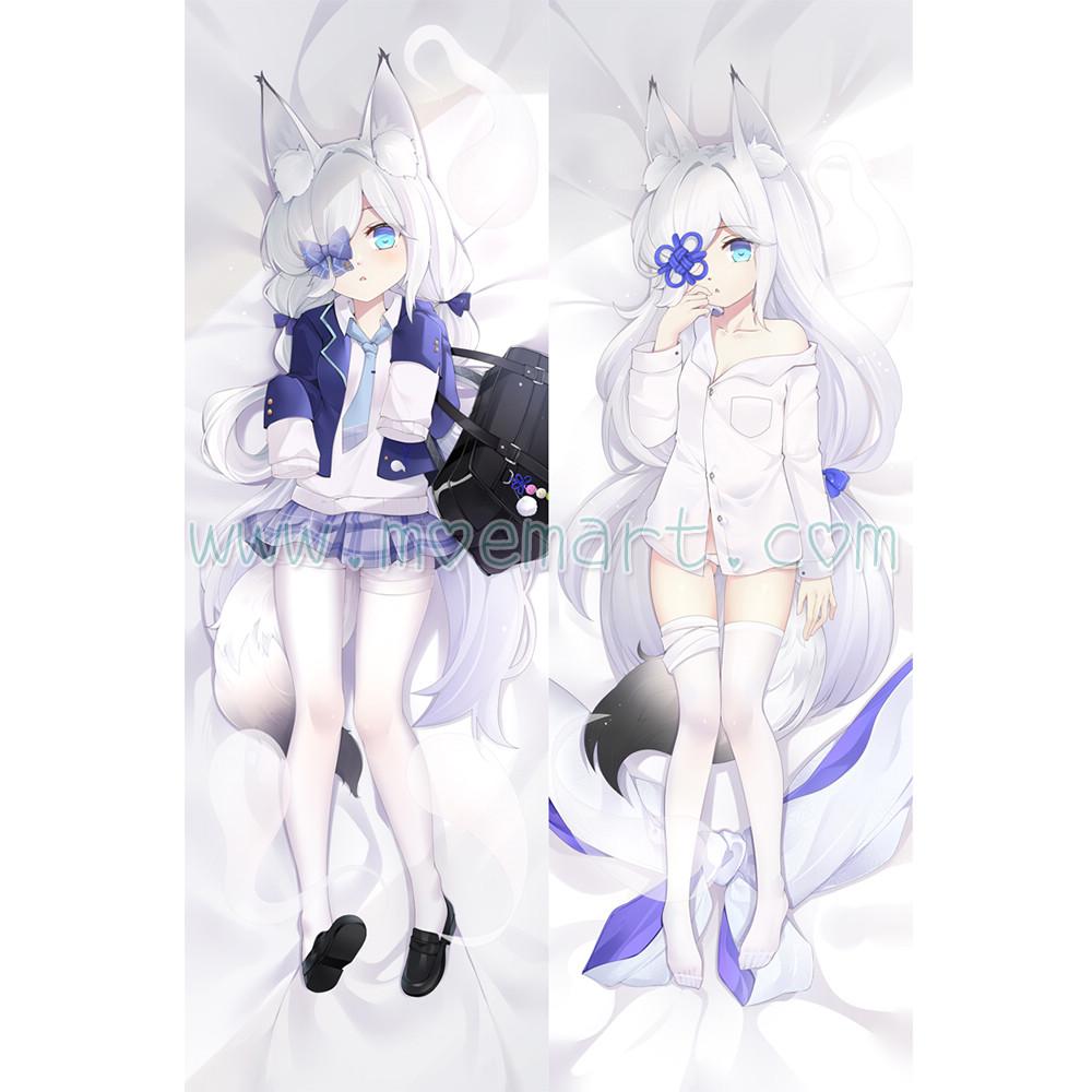 Azur Lane Dakimakura Kasumi Body Pillow Case 02